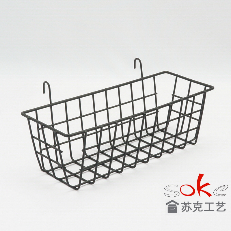 PE Rattan Handle Storage Bin