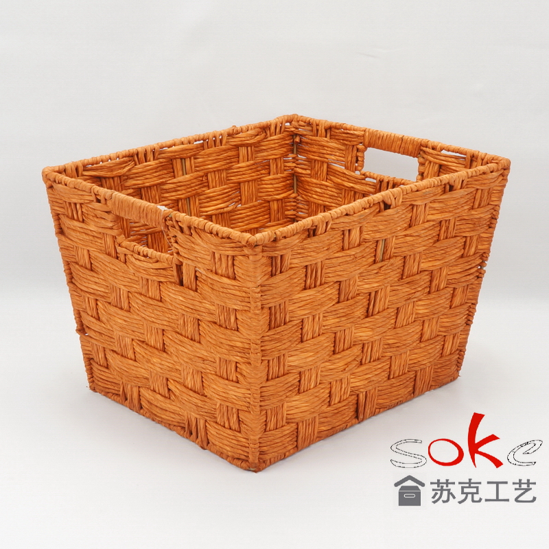 Buy discount paper rope storage basket suppliers